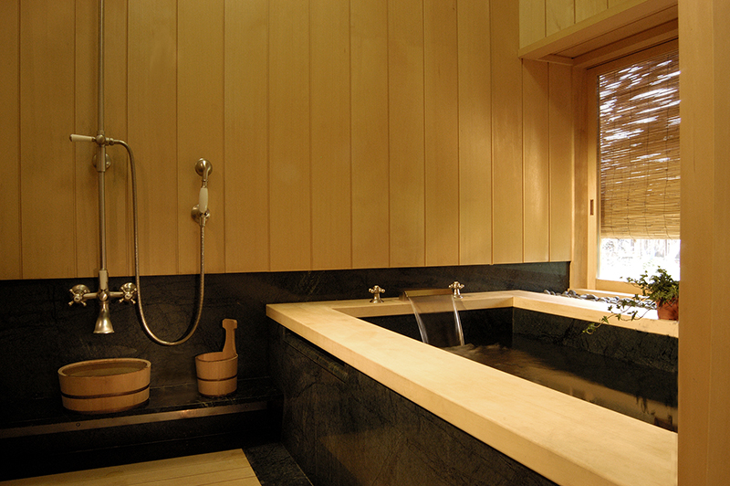 Japanese soaking tubs, ofuro