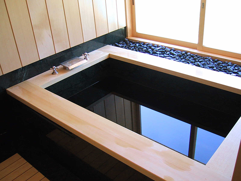 how to make a japanese soaking tub