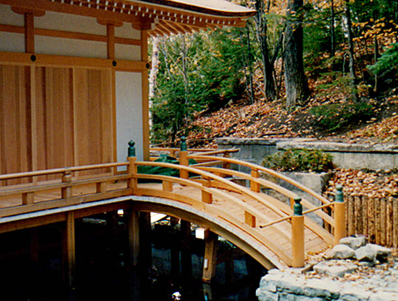 Japanese Garden Structures Viewing Pavilions Bridges
