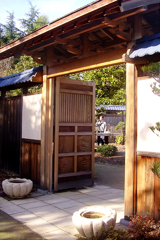 Entrance Gate To Bonsai Garden