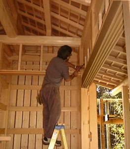 Japanese Master Carpenter Japanese Designer Builder