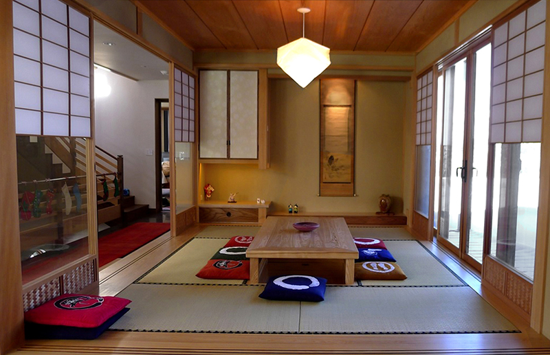 Traditional Japanese Interior Japanese Room Tatami Room