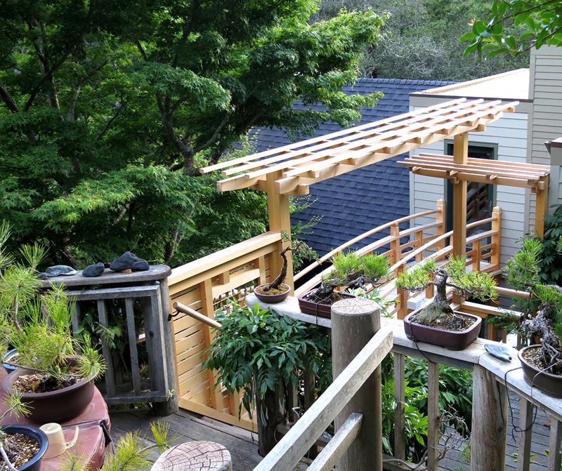 Japanese Inspired Garden In Grant Park: Japanese Garden Structures, Japanese Bridge